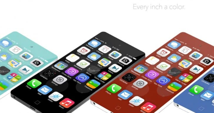 iPhone 6 and 5S covering different materials