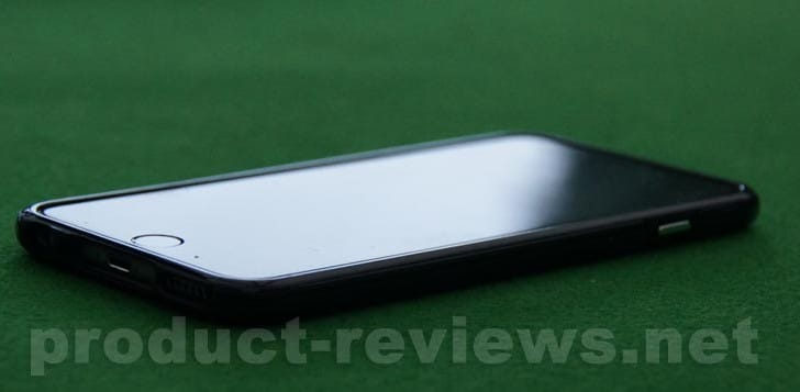 Clear iPhone 6 Plus Case-Mate review with bumper