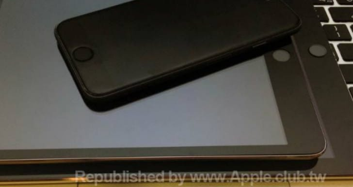 iPad Air 2 Touch ID pictured with iPhone 6