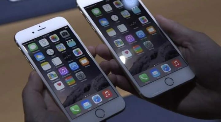 iPhone 6 Vs iPhone 6 Plus in two minutes