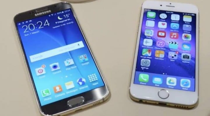 Galaxy S6 Vs iPhone 6 in 5 minute review