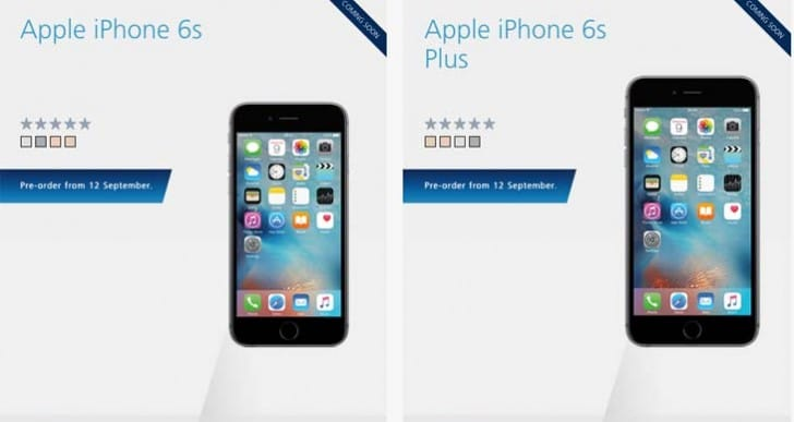 iPhone 6S pre-order time today at O2, Apple UK