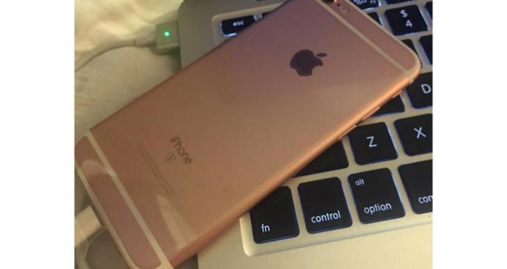 iPhone 6S Rose Gold with early delivery date