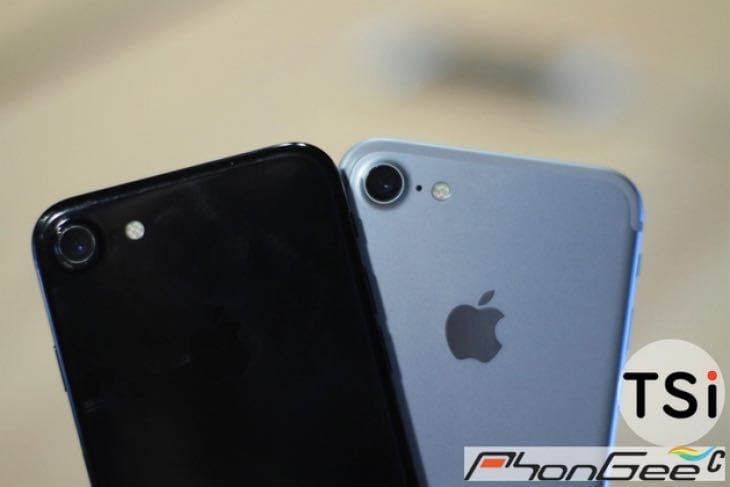 iPhone 7 picture leaks with Dark Black color  Product Reviews Net