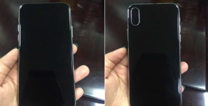 iPhone 8 leaked pictures with no home button