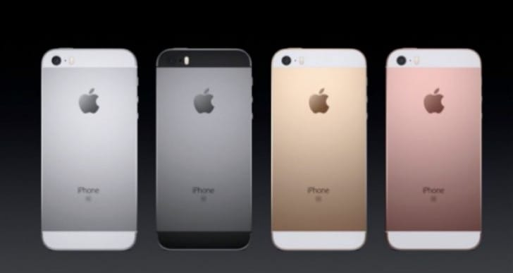 New iPhone SE price list for USA and UK