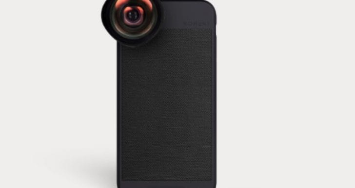 iPhone X cover with camera lens for photographers