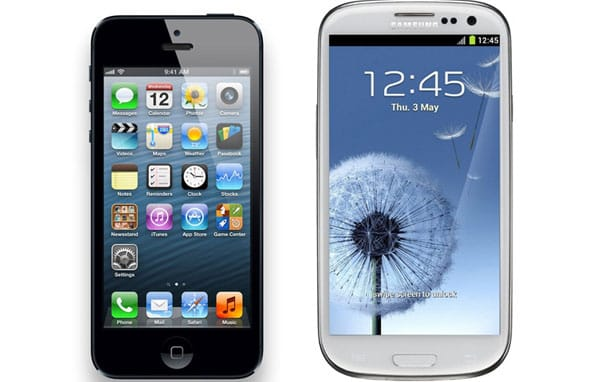 Galaxy S3 vs. iPhone 5: Battery life and screen