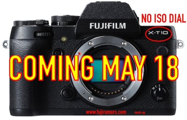 Fujifilm X-T10 features and possible debut