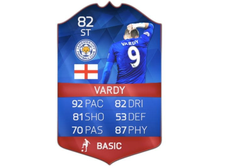 Legends Auto Sales >> Jamie Vardy record breaker card for FIFA 16 deadline – Product Reviews Net