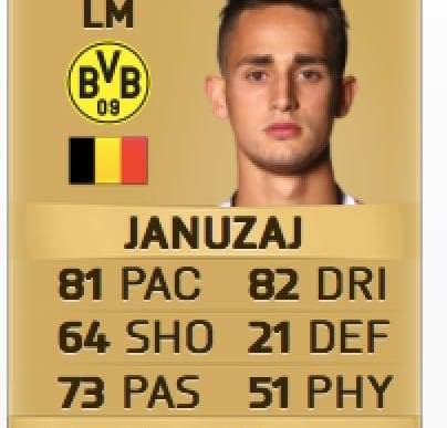 Man Utd Januzaj boost for FIFA 16 January transfer update