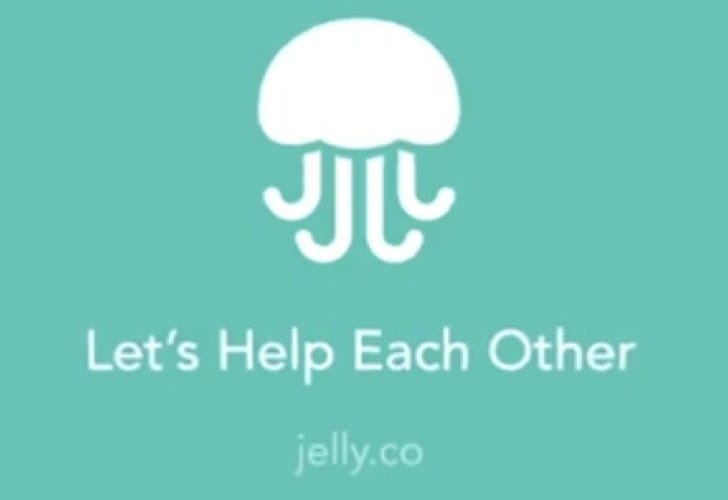 Jelly app for Android and iPhone