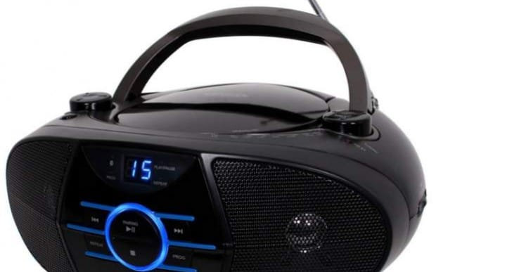 Jensen CD-560 AM/FM Radio Boombox specs in review