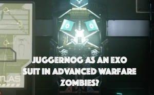 Advanced Warfare Zombies Juggernog perk as Exo Suit?