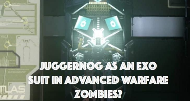 Advanced Warfare Zombies Juggernog perk as Exo Suit?