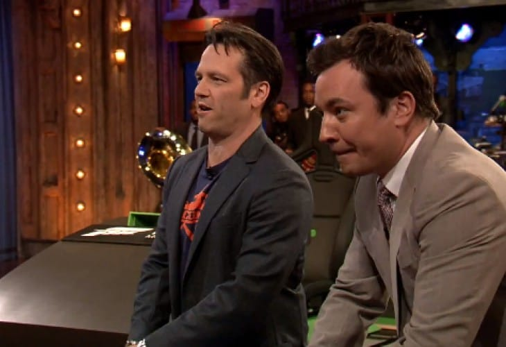 Killer Instinct gameplay: Microsoft VP Vs Jimmy Fallon
