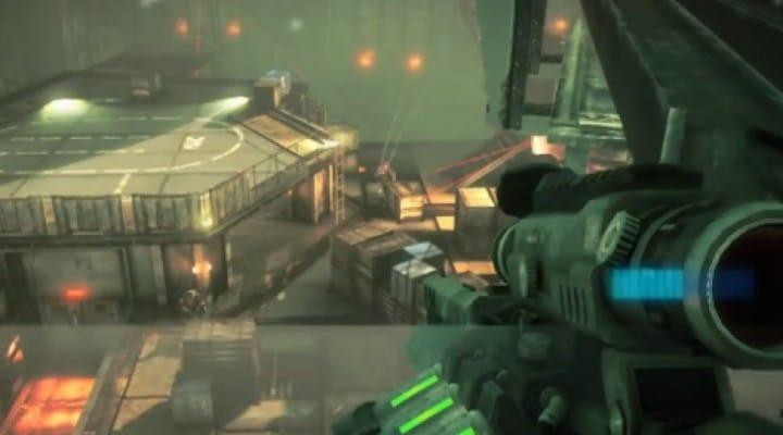 PS Vita graphics from Killzone single-player