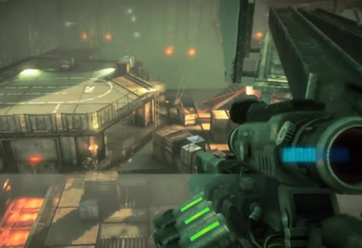 PS Vita graphics from Killzone single-player