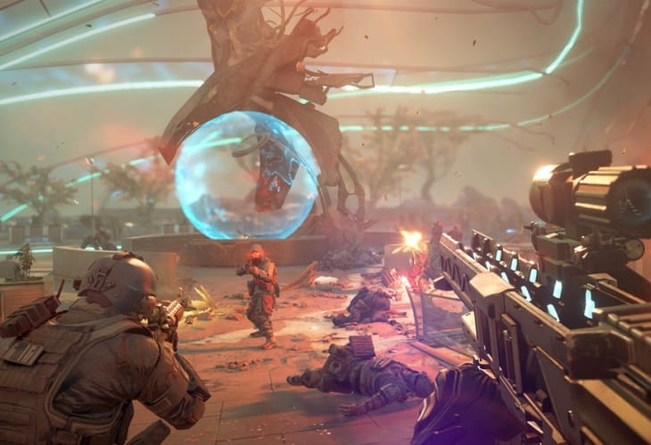 PS4 real time graphics with Killzone Shadow Fall