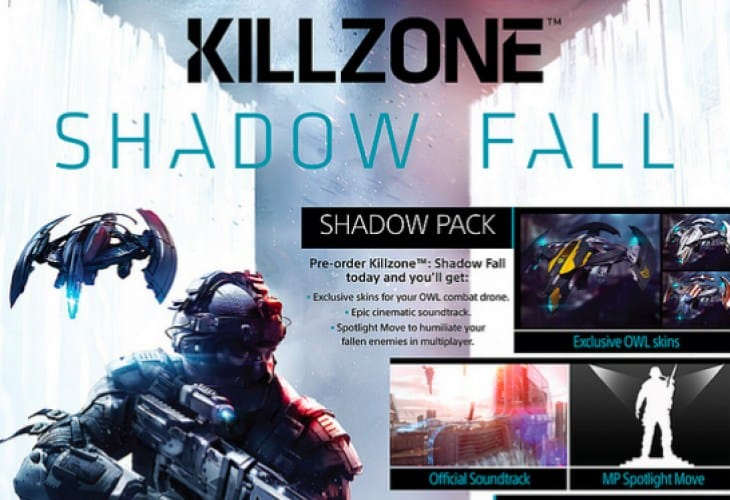 Killzone Shadow Fall pre-order to humiliate players in MP
