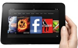Amazon offer savings on Kindle Fire tablets