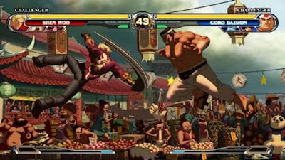 King of Fighters XII Hands-on Screen 2