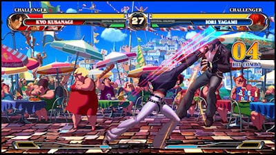 King of Fighters XII Hands-on Screen