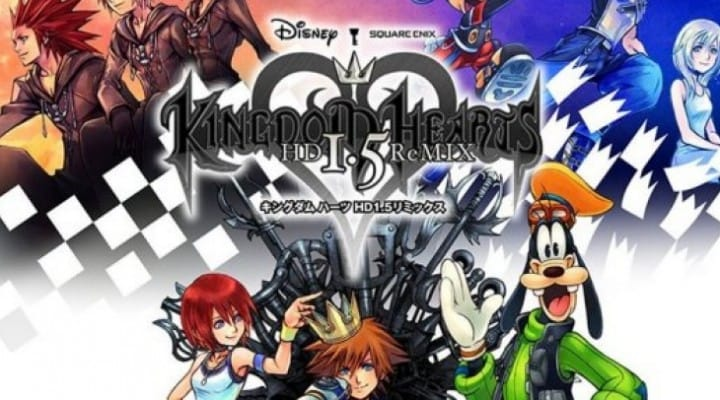Kingdom Hearts HD 1.5 Remix gameplay on PS3