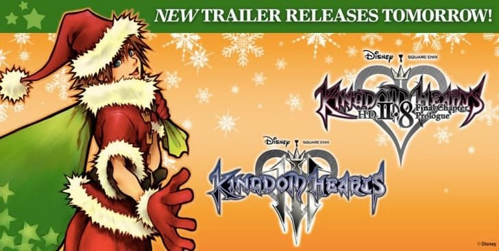 New Kingdom Hearts 3 trailer release time