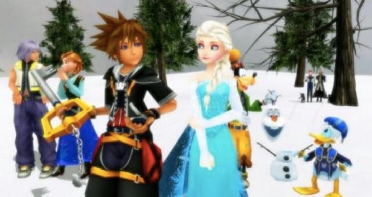 Kingdom Hearts 3 characters playable from new worlds