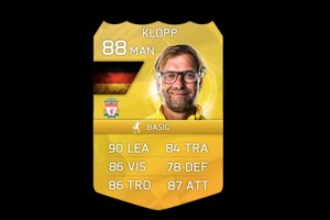 Klopp consumable for Liverpool FC on FIFA 16