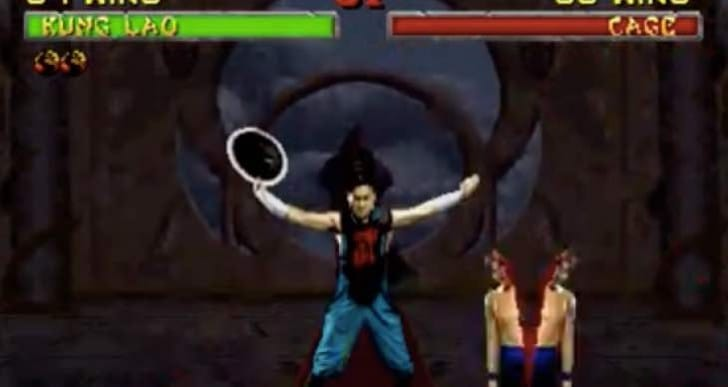 Kung Lao Hat Split MKX fatality for PS4, Xbox One