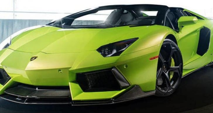 New Lamborghini Aventador-V body kit, price withheld