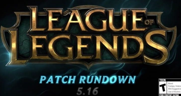 LOL Patch 5.16 rundown with Project Zed buff