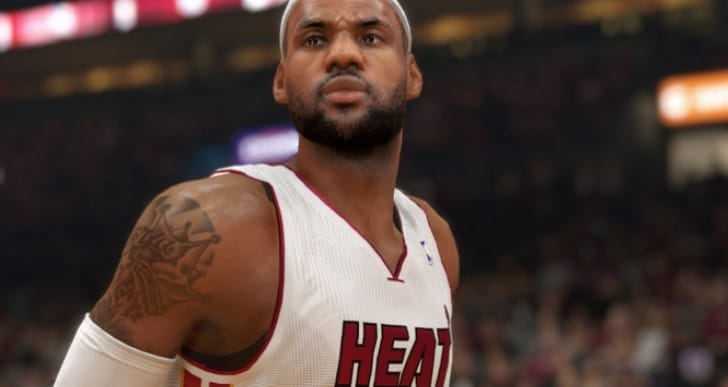 NBA 2K14 PS4 Vs PS3 Lebron James looks crazy