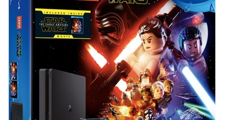 PS4 Slim 1TB Lego Star Wars bundle with great price