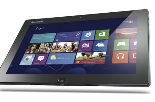 This tablet comes with a spanking new version of Windows 8 for tablet.