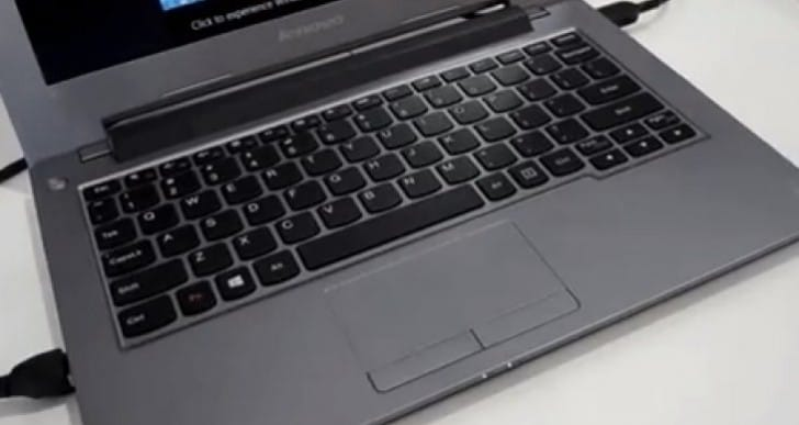 Lenovo IdeaPad S210 laptop with MacBook design