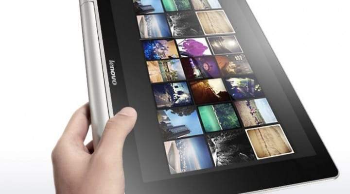 Lenovo Yoga 10 tablet features review on video