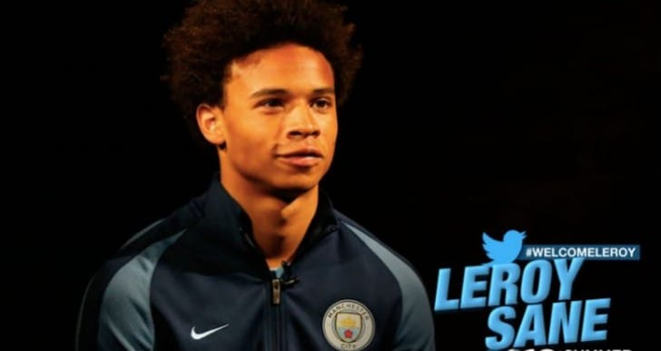 Leroy Sane Man City rating surprise on FIFA 17