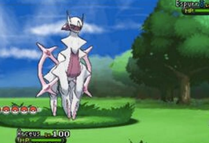 Pokemon X and Y Fairy Arceus not related to Volcanion leak