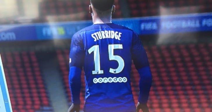 Daniel Sturridge in PSG shirt for LFC transfer shock
