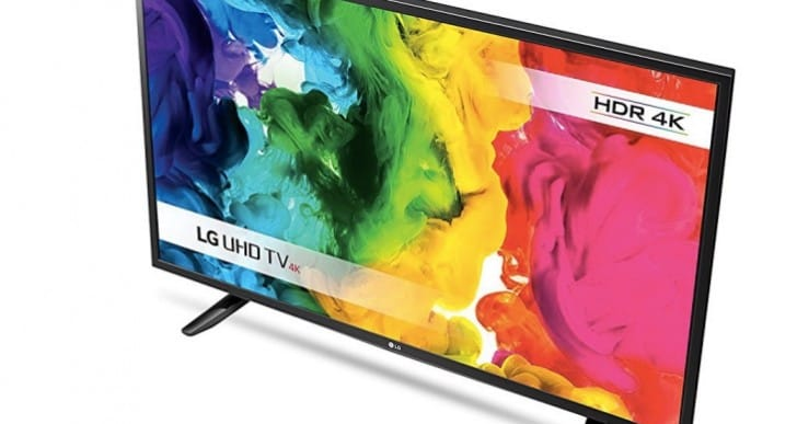 LG 43-inch 43UH603V 4K TV now under £400