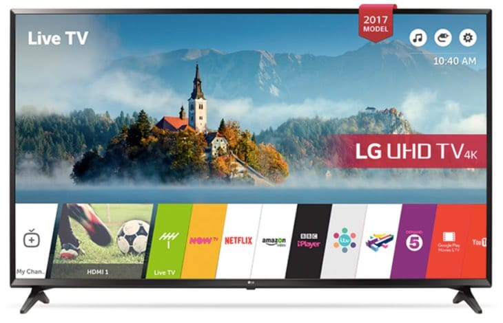 LG 43UJ630 4K TV review with HDR10 surprise