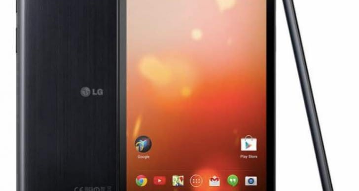 LG UK promote G Pad 10.1, 8, 7 and V500 comparison