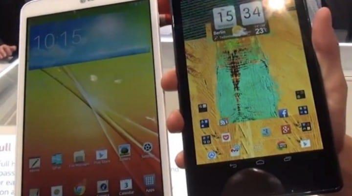 LG G Pad 8.3 Vs Nexus 7 price war in 2014