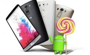 LG G3 Android 5.0 Lollipop update for US, UK