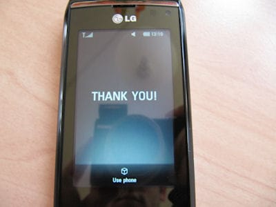 LG GC900 Viewty Smart Full Hands-on Review and Specs 11