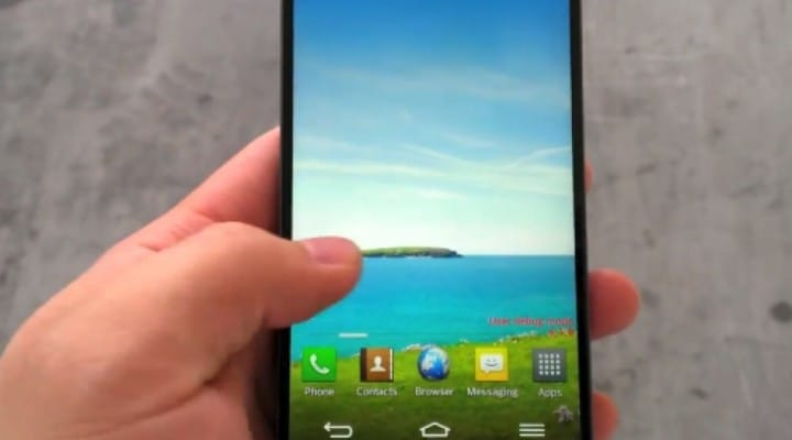 LG Optimus G2 video shows massive screen