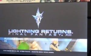 Lightning Returns: Final Fantasy 13 early gameplay